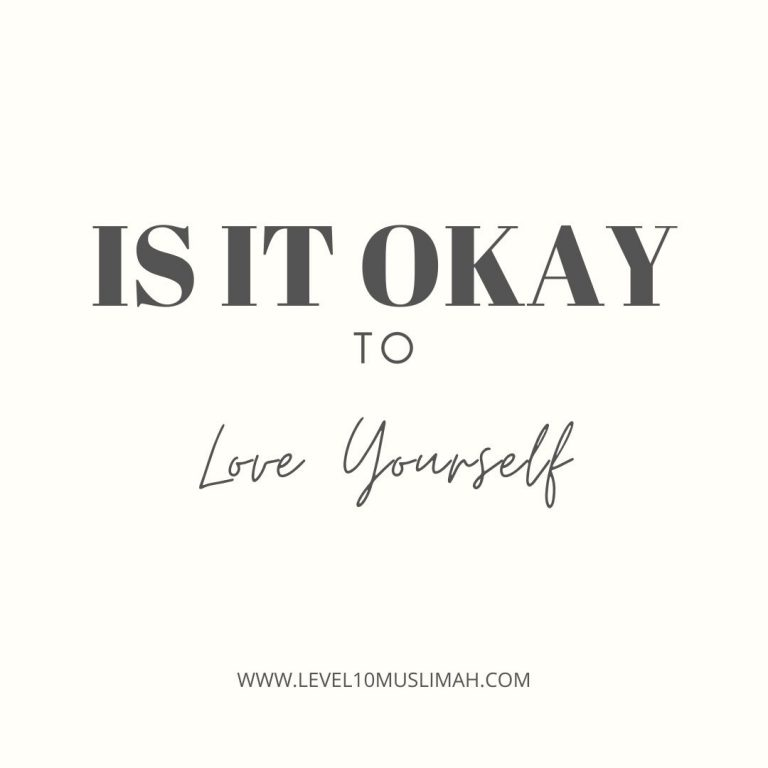 Is it okay to love yourself?
