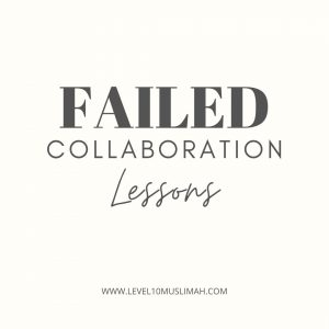 Lessons Learned From a Failed Collaboration