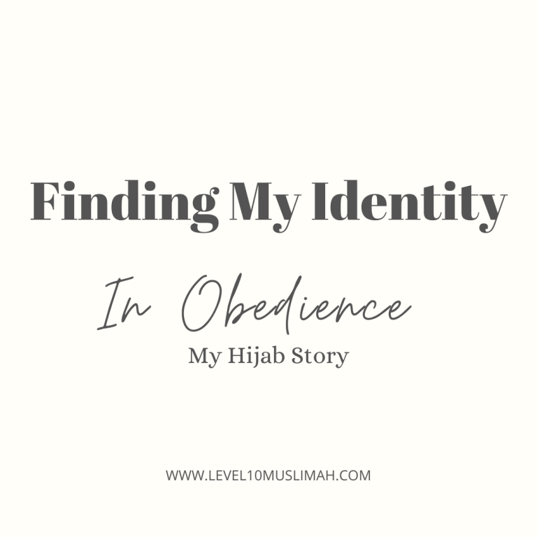 Finding My Identity In Obedience- My Hijab Story